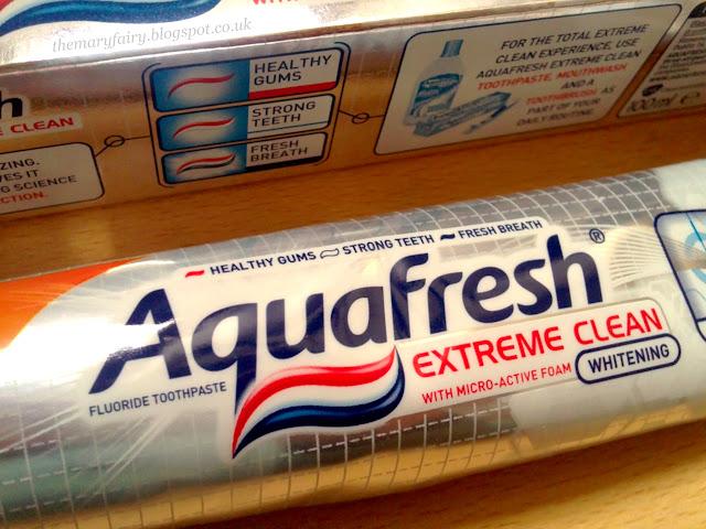 Aquafresh Extreme Clean Whitening Toothpaste