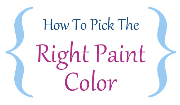 How to pick the right paint color for How to pick paint colors
