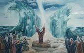 """"""" Moisés abrindo o mar"""""""