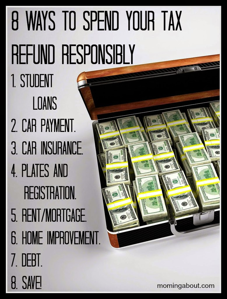 8 Ways to Spend Your Tax Money Responsibly