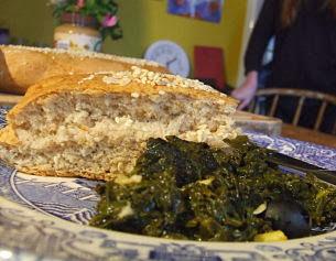 Bread and khoubiza
