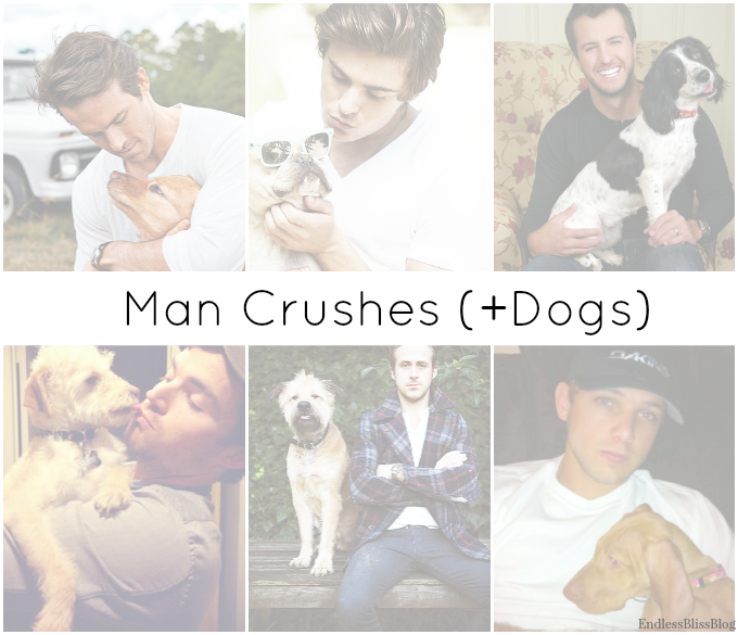 man crush, men with dogs