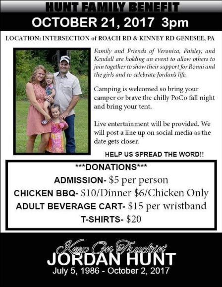 10-21 Hunt Family Benefit