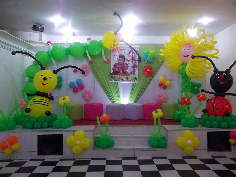 Decoração E Balões Decoração Jardim Encantado da Camila