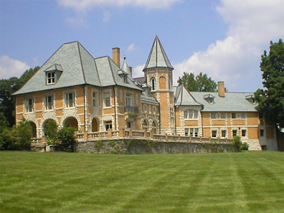 The Cairnwood Estate in Bryn Athyn, PA