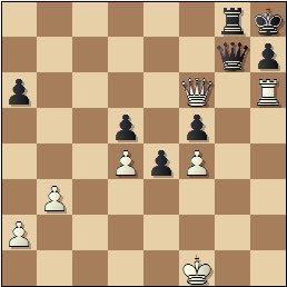Partida de ajedrez Viladerbó vs. Pomar, Campeonato de España de 1946, posición después de 44.Th6