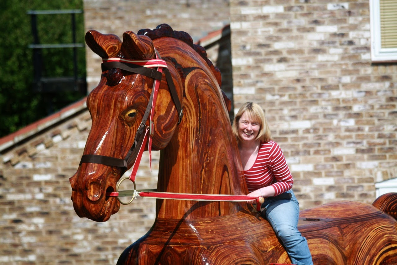 big rocking horse plans