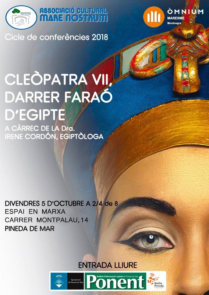 CONFERÈNCIA DIA 5 D'OCTUBRE 2018