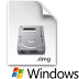 Membakar berkas .DMG di Sistem Operasi  Microsoft Windows