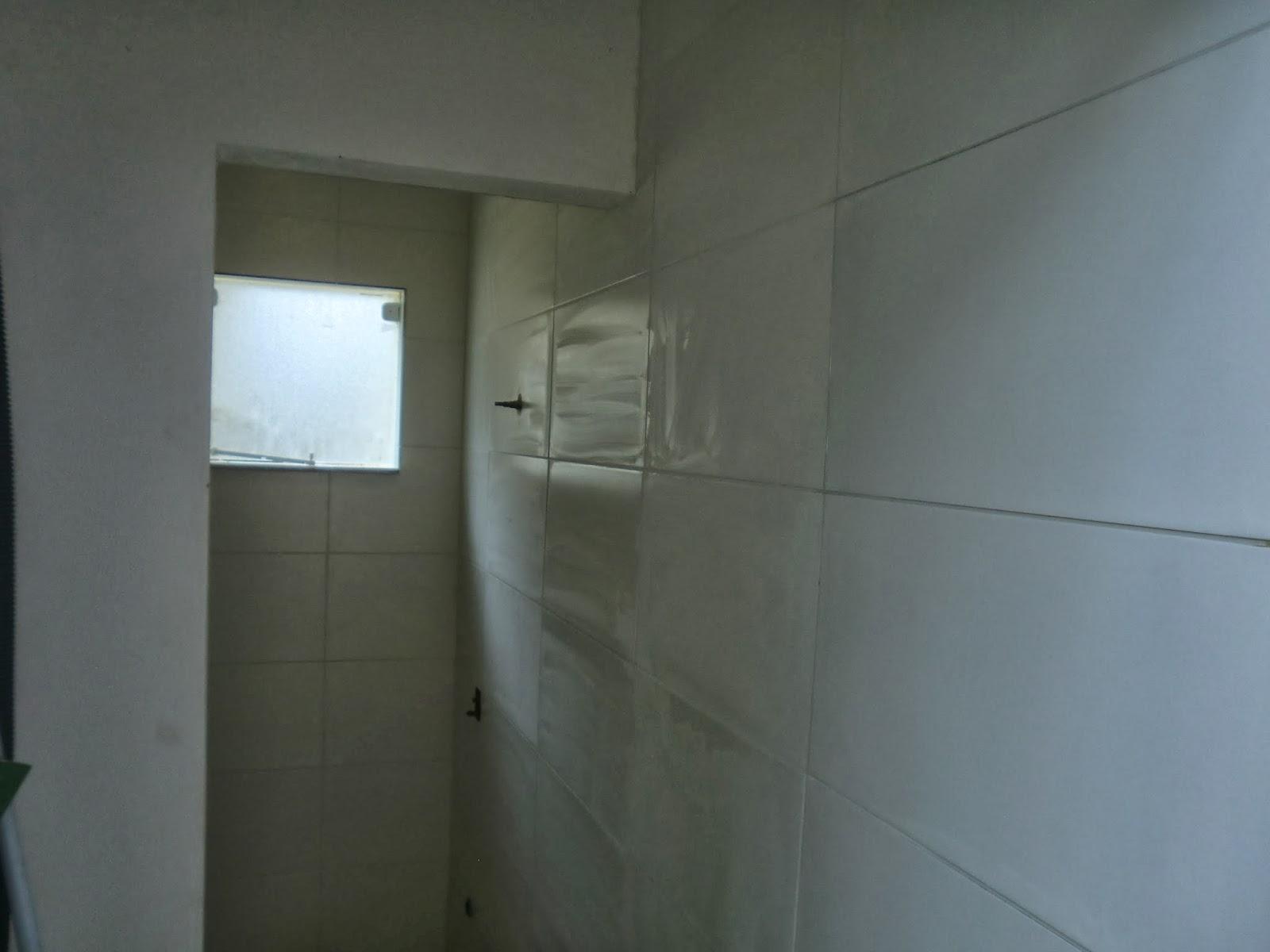 em reforma Durante a Reforma Reforma Barata de Lavabo e Banheiro #3B7790 1600 1200