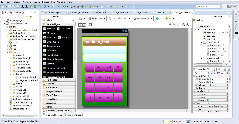 Cara Membuat Aplikasi Calculator Untuk Android