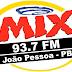 Rádio: Ouvir a Rádio Mix FM 93,7 da Cidade de João Pessoa - Online ao Vivo
