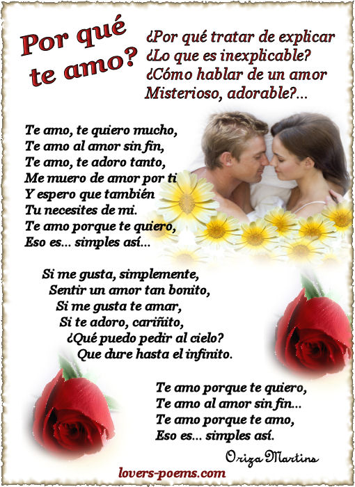 10 Imagenes Con Poemas De Amor En Espa  Ol