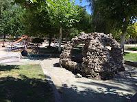 Las obras del parque a punto de empezar