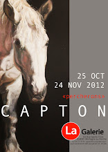 MORTAGNE AU PERCHE : EXPOSITION PERSONNELLE DE CAPTON A LA GALERIE