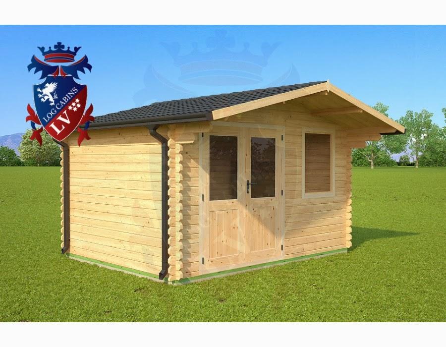 economy log cabins