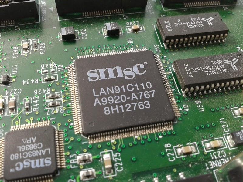 Chip de um sistema embutido smsc