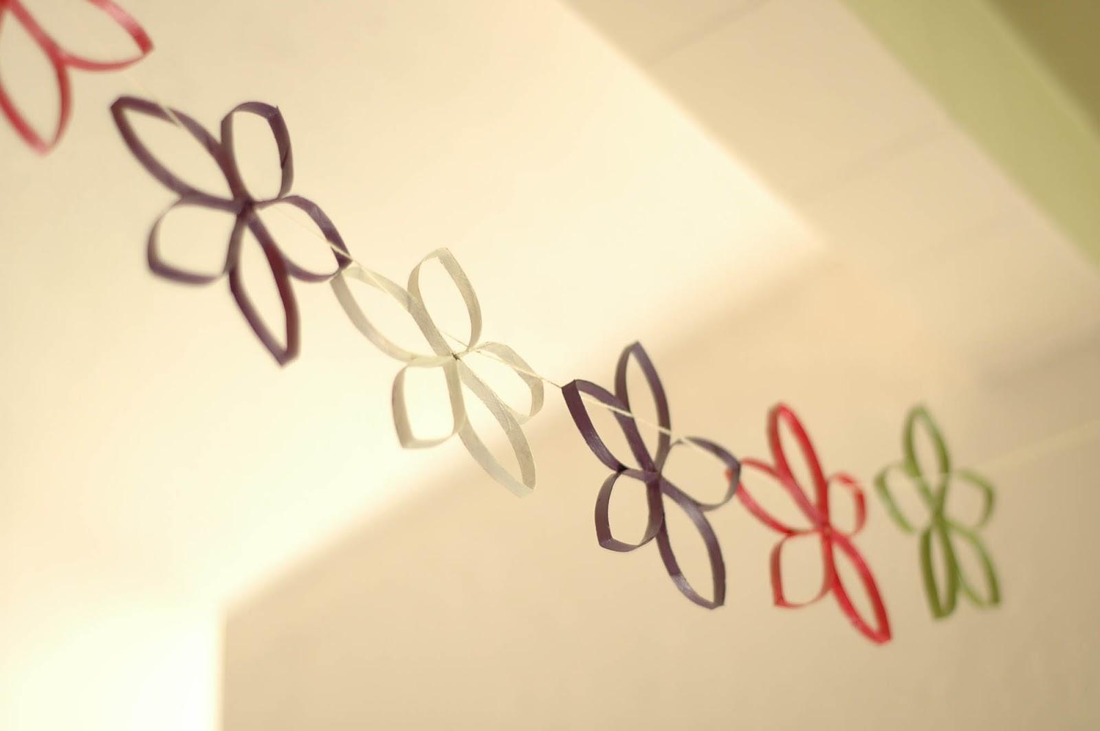 Crafting Made Easy: Cardboard Flower Decorations