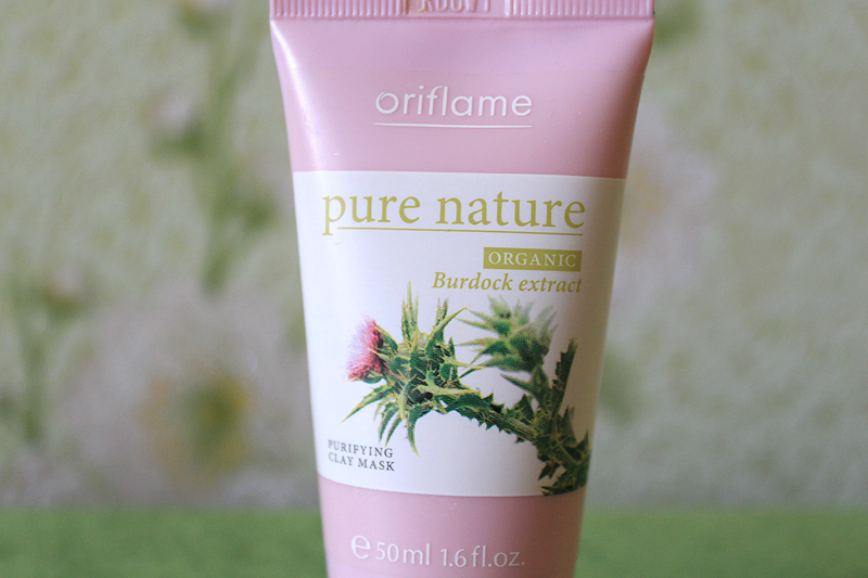 Oriflame, Pure Nature Organic, маска для лица, Review, Mask, purifying clay mask