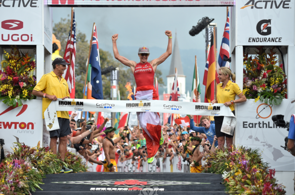 Daniela Ryf ganadora de IROMAN HAWAII 2015