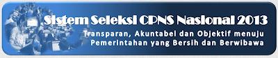 Syarat Pendaftaran CPNS Online 2013