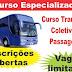 DETRAN do Rio de Janeiro está dando curso gratuito de Transporte Coletivo de Passageiros. O curso é obrigatório para todos os motoristas que pretendem exercer atividade remunerada nesta área.