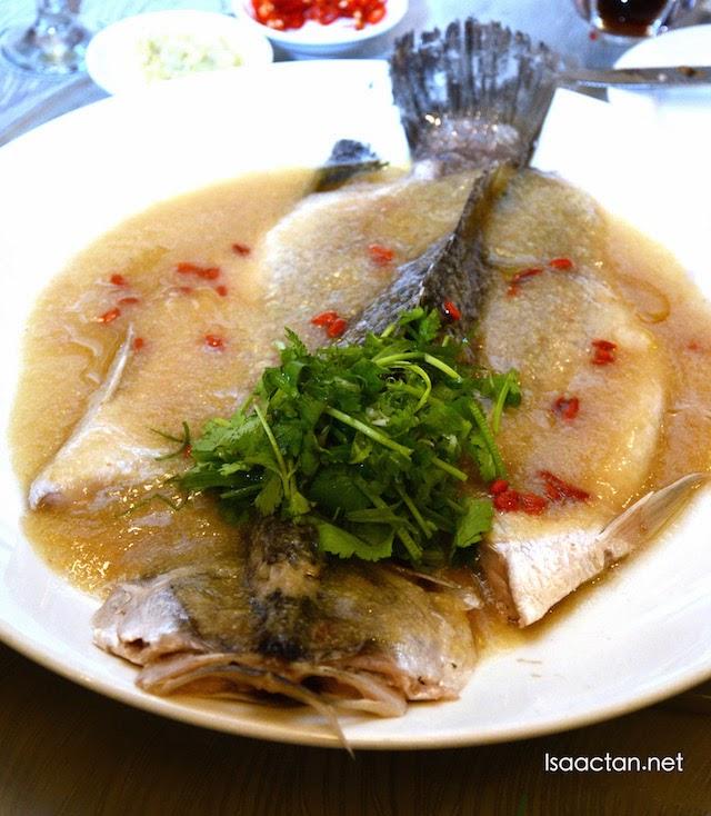 Steam fish for prosperity
