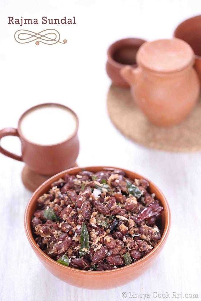 Rajma Masala Sundal recipe