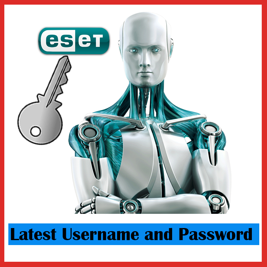 Eset Nod32 Antivirus Username and Password