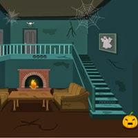 Wow scary halloween house escape 2 walkthrough for Minimalist house escape 2 walkthrough