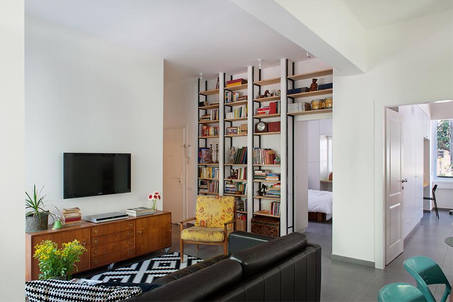 Appartamento di 75 mq a tel aviv by dalit lilienthal arc for Ristrutturare appartamento 75 mq