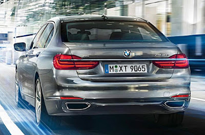 2016 BMW 7 Series Rendering