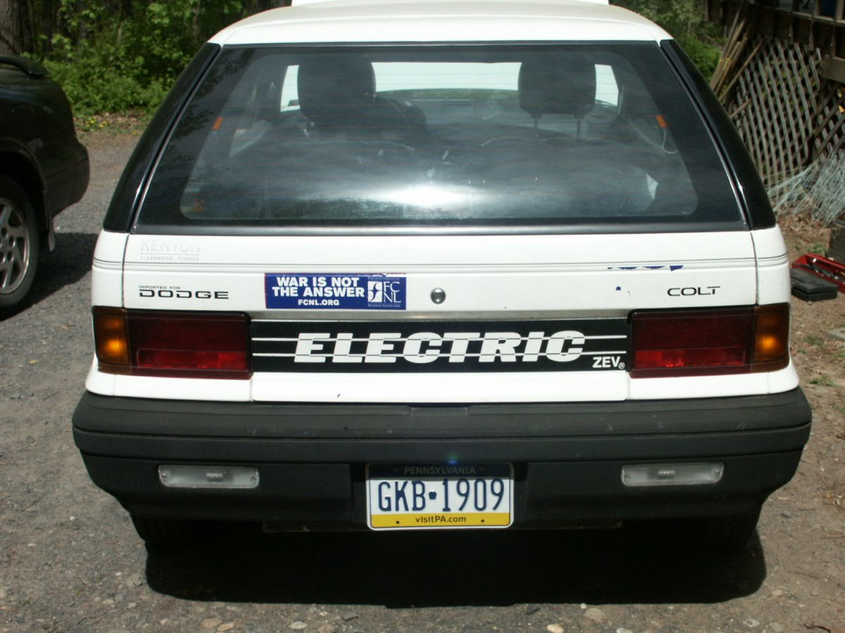 Electric dodge colt update long lost siblings found for sale running in great condition
