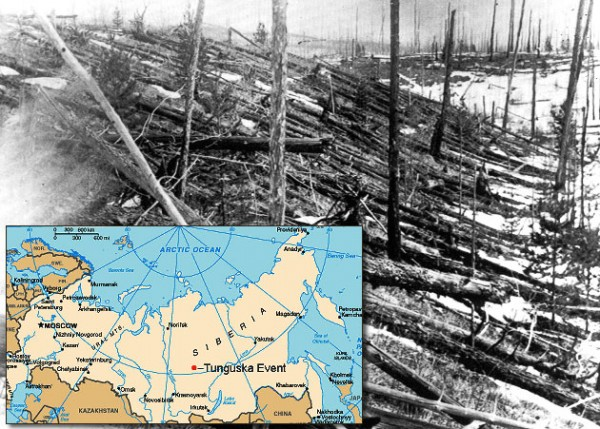 most famous unsolved mysteries of the world The Tunguska Explosion of Russia