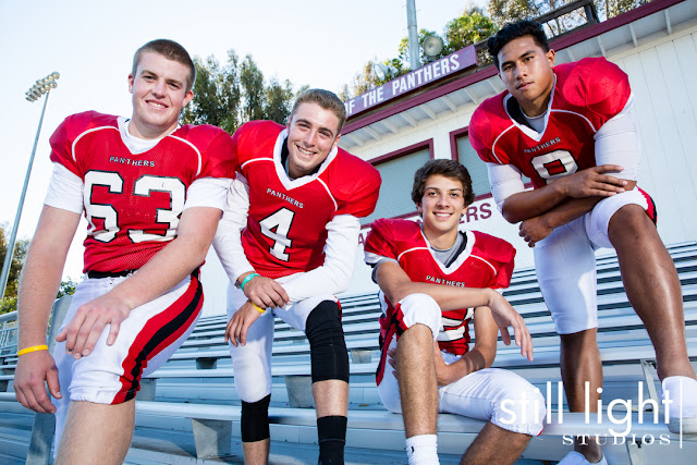 still light studios sports photography burlingame varsity football team