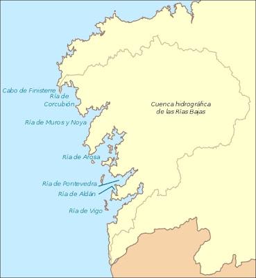 Alojamientos, casas completas, pisos y apartamentos en las Rias Bajas, Rias Baixas, La Coruna, Pontevedra, Galicia