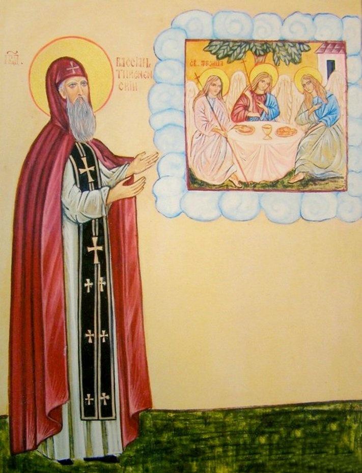 Преподобный Вассиан Тиксненский (Тотемский)