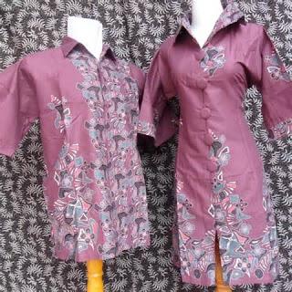 Model Batik Modern Pria dan Wanita