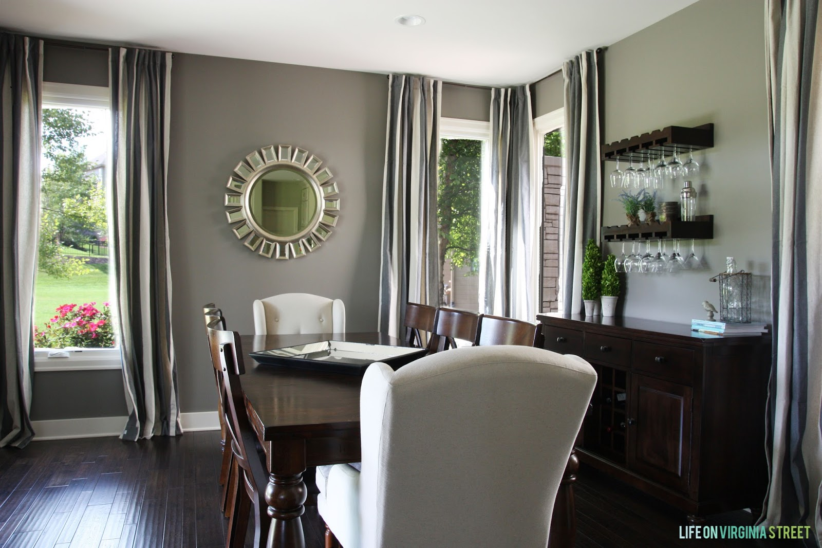 Paint colors life on virginia street for Dining room paint colors