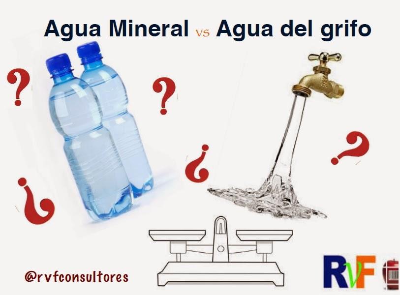 ¿Es el agua embotellada mejor que el agua corriente? Agua+mineral+frente+agua+del+grifo