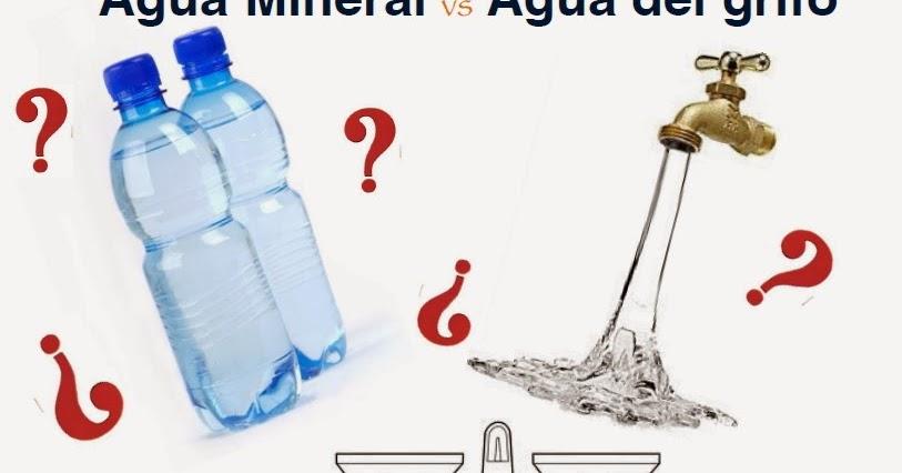 Agua del grifo agua envasada agua purificada es m s que comer - Agua del grifo o embotellada ...