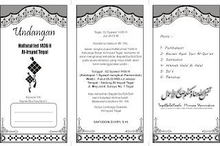 undangan halal bi halal haflatul ied 1436 h download gratis undangan ...