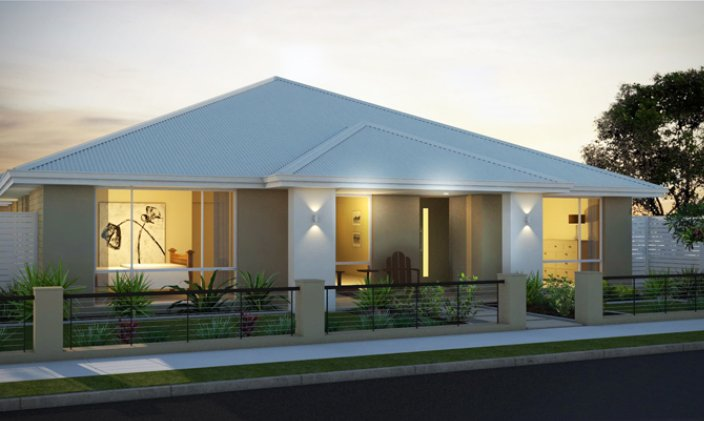 Modern small homes exterior designs ideas new home designs for Small contemporary house