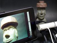 Webカメラで撮影