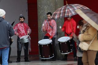 El Grupo de Percusión del Conservatorio, en Gernikako Arbola