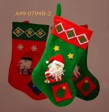 botas para la navidad