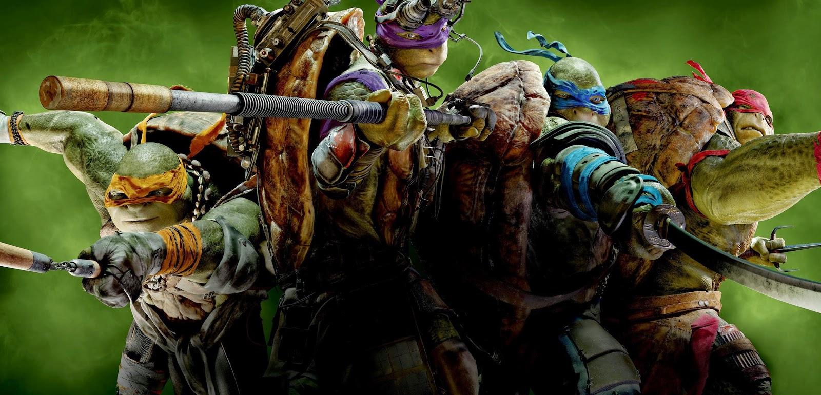 Mais humor, ação e Destruidor nos comerciais inédito de As Tartarugas Ninja, com Megan Fox e Will Arnett