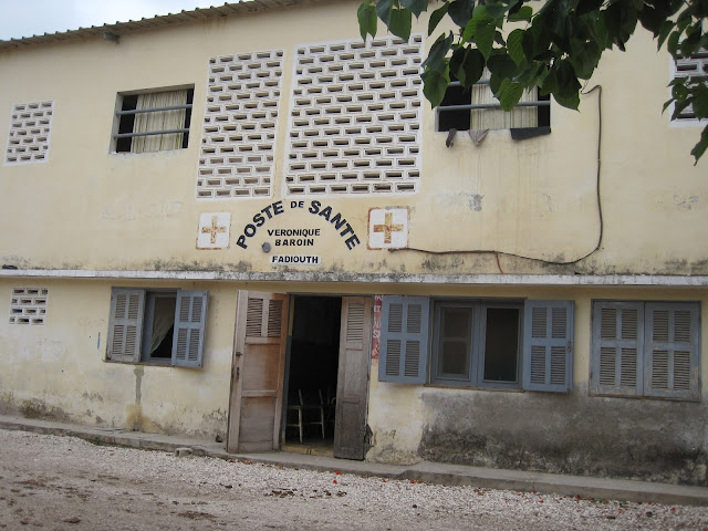 Centro de Salud en Fadiouth, Senegal