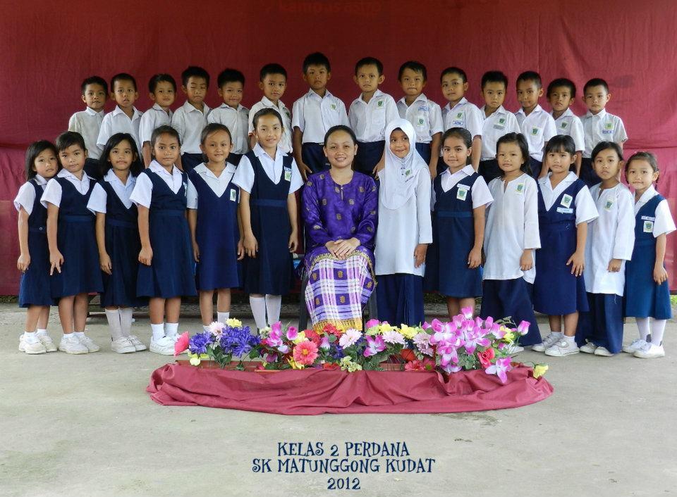 kelas 2 perdana 2012 ~ SK Matunggong Kudat Sabah