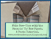 Make a Bow-Tie with your SU! Bow Punch